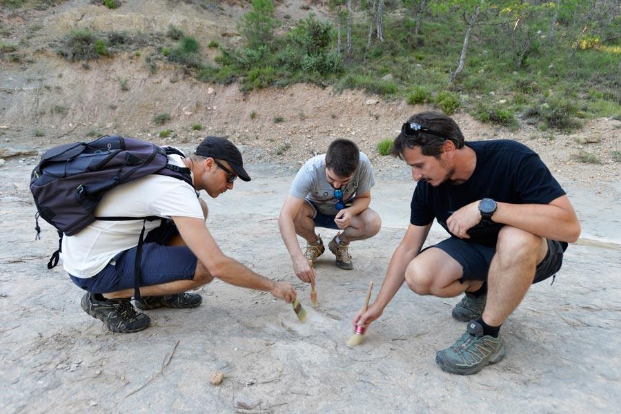 ruta icnitas de dinosaurio excursiones en lleida