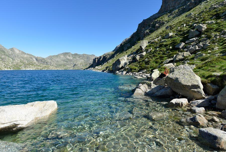 lagos de vall de fosca ruta refugio colomina