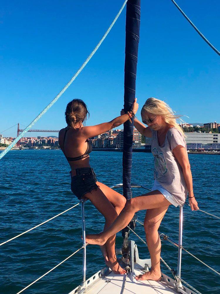 paseo en velero planes en Getxo