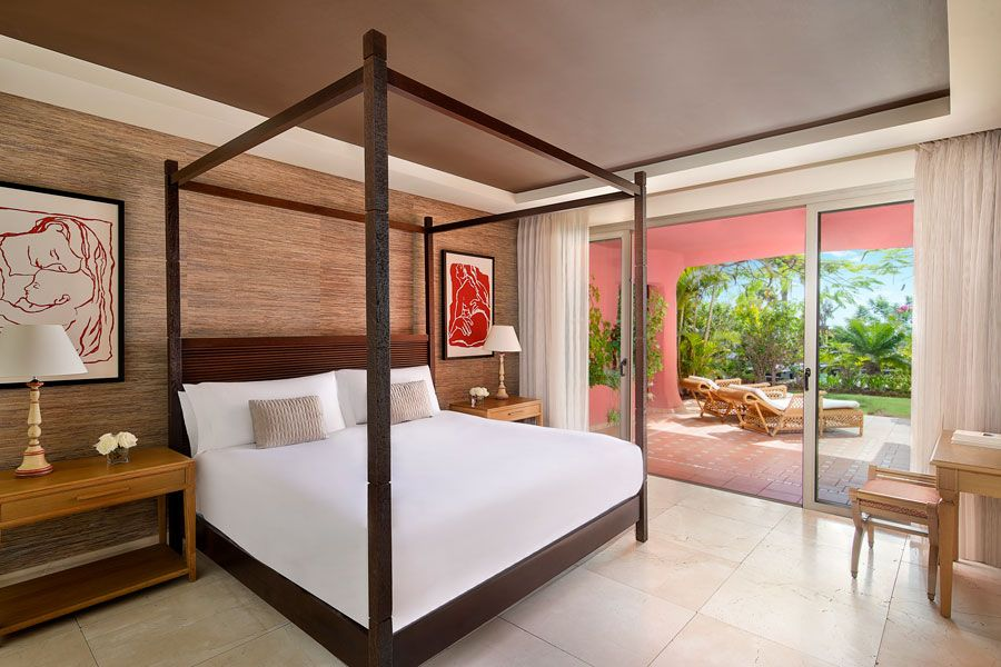 habitación del hotel Abama