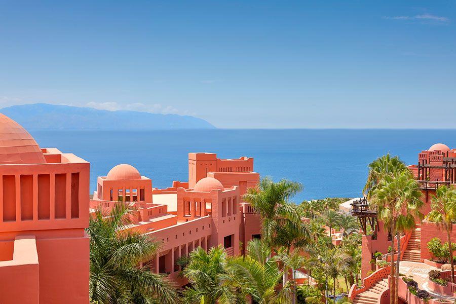 vistas del hotel Abama