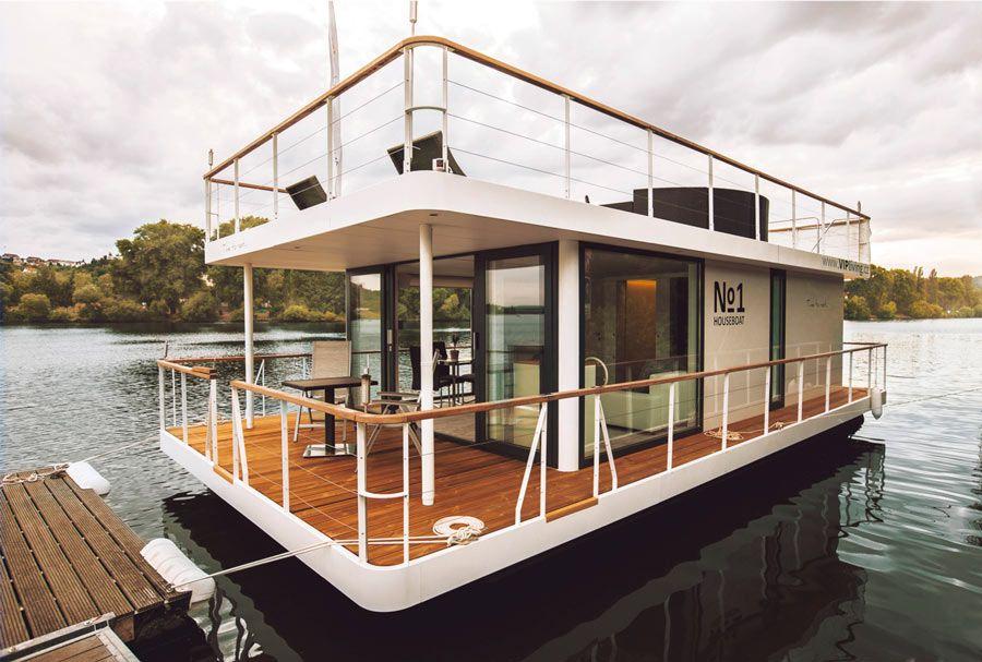 hotel en barco en praga