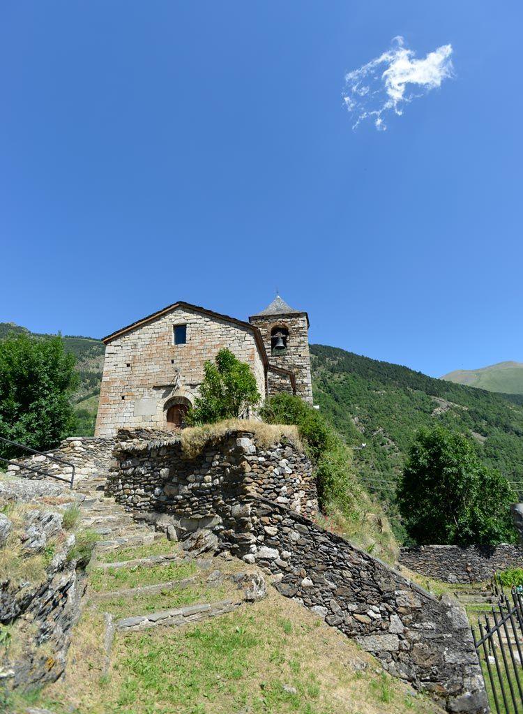 iglesia de Sant Vicenc de Capdella