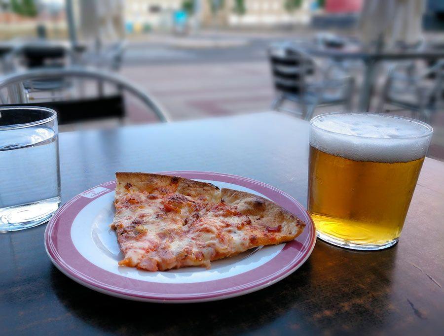 donde comer en leon pizzas la competencia