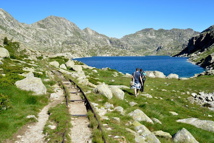 lagos montana parque aiguestortes lleida