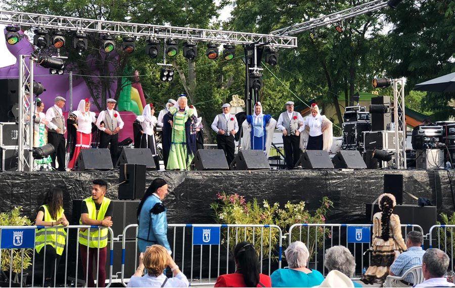 bailes Verbena de San Antonio