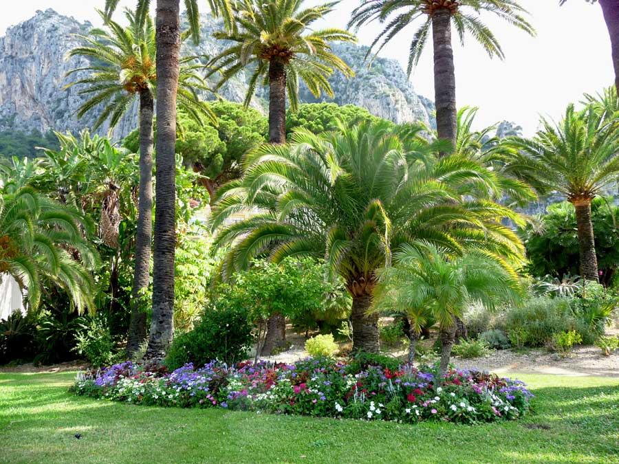 jardines de la Costa Azul