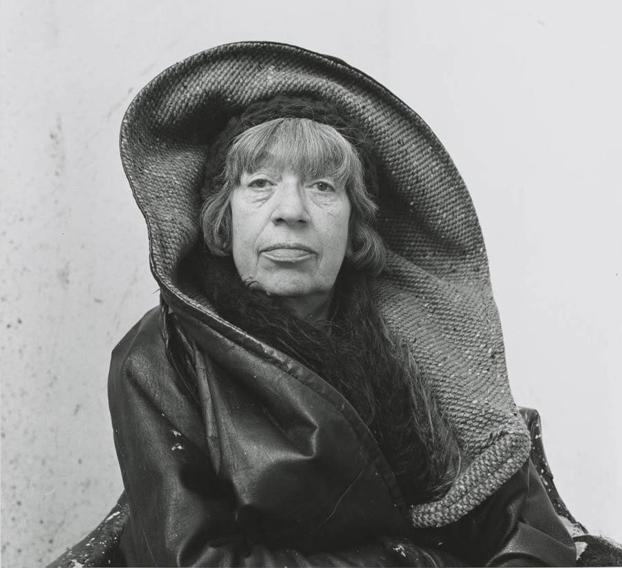 fotografia lee krasner 1972