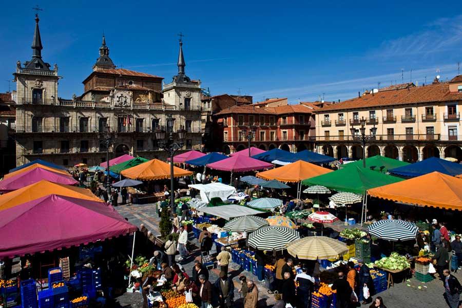 Mercado de la Plaza Mayor de León