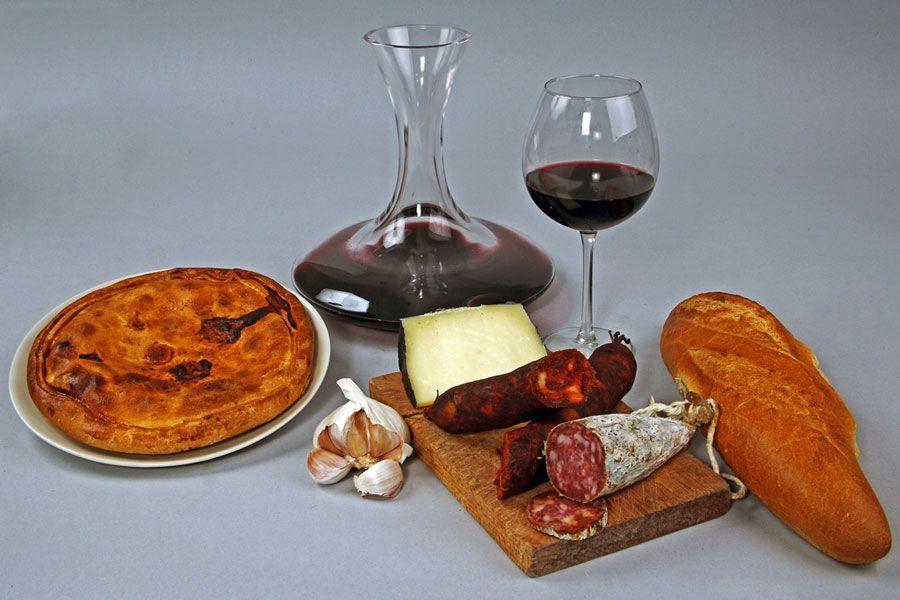 Productos de la gastronomía de León.