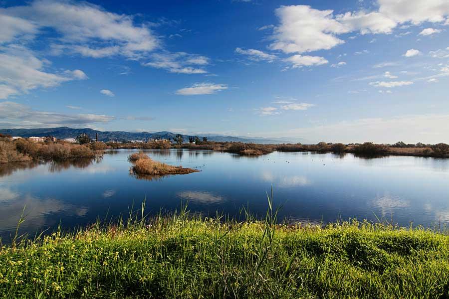 Desembocadura del río Guadalhorce.
