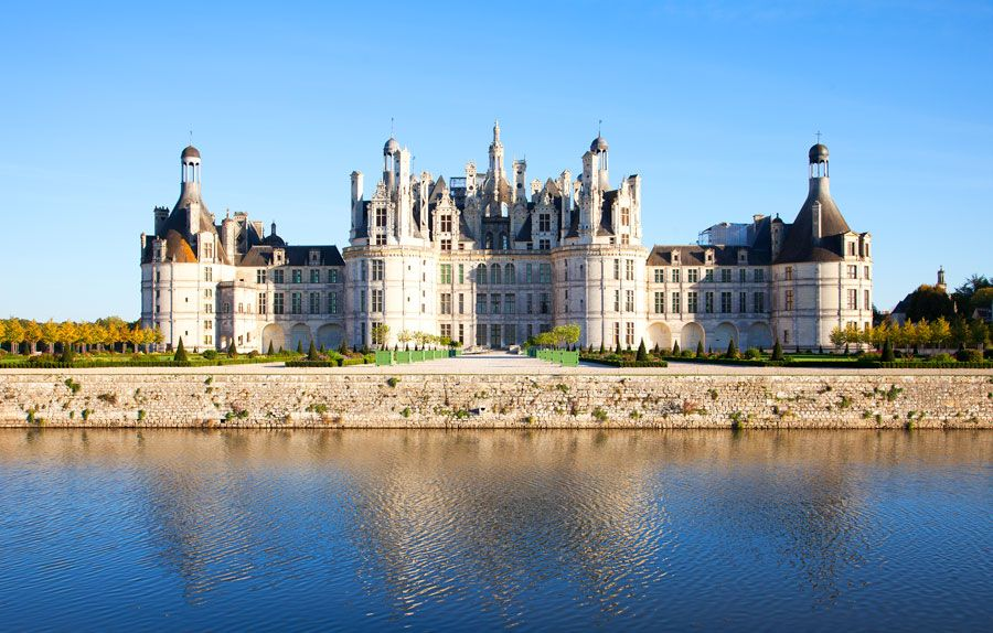 Castillo de Chambord.