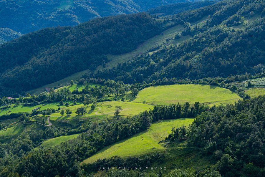 vistas desde el pico del Gamoniteiru