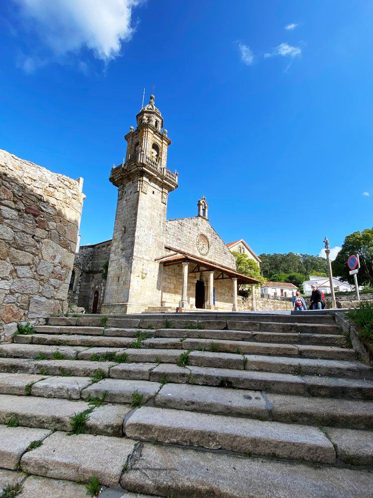 colegiata santa maria del campo muros galicia