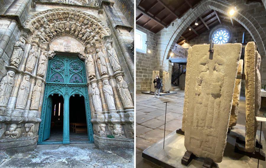 templo san martino noia museo lapidas