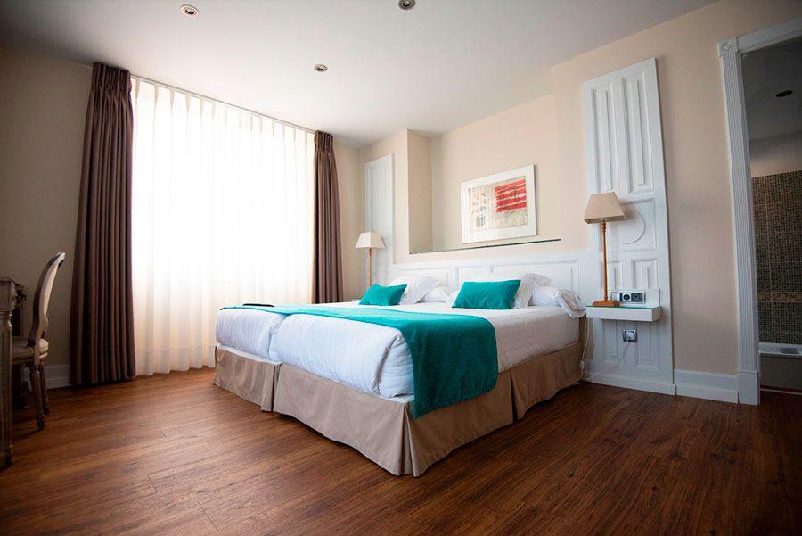 Habitación del hotel Villa Rosario