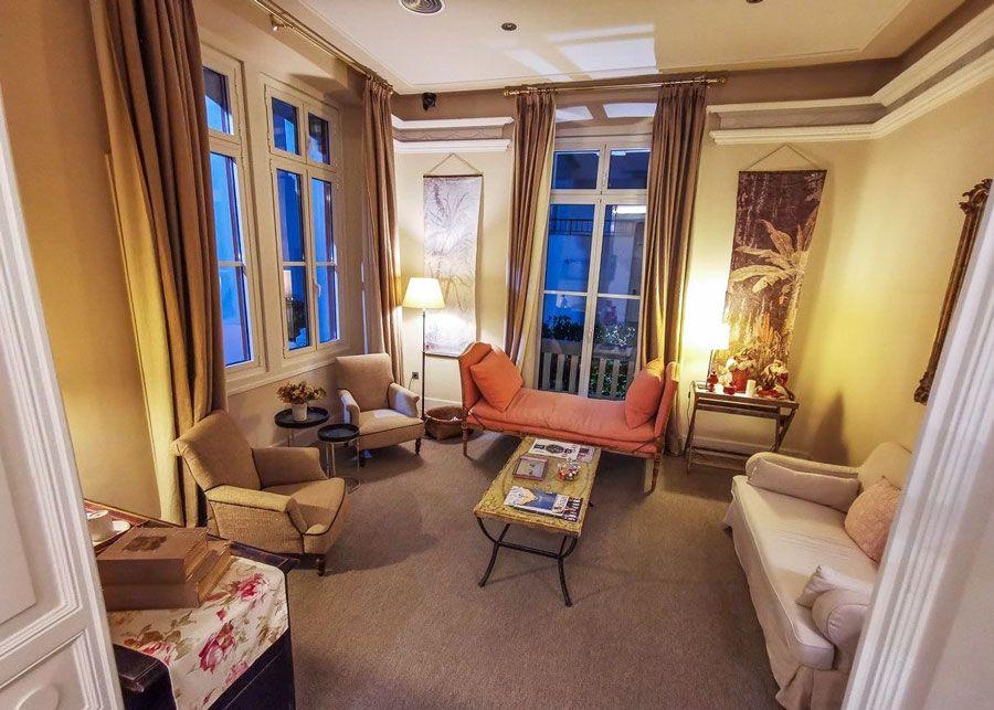 Salón hotel Villa Rosario