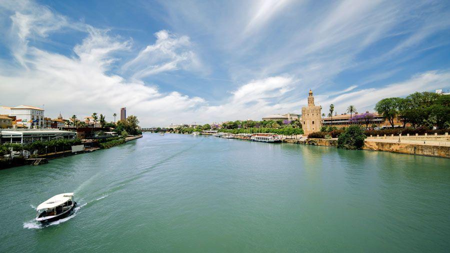 rio guadalquivir andalucia
