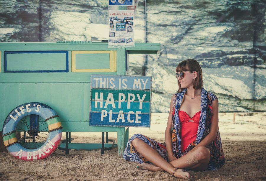 felicidad de viajar
