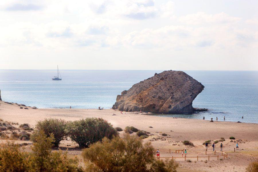 Playa de Monsul.