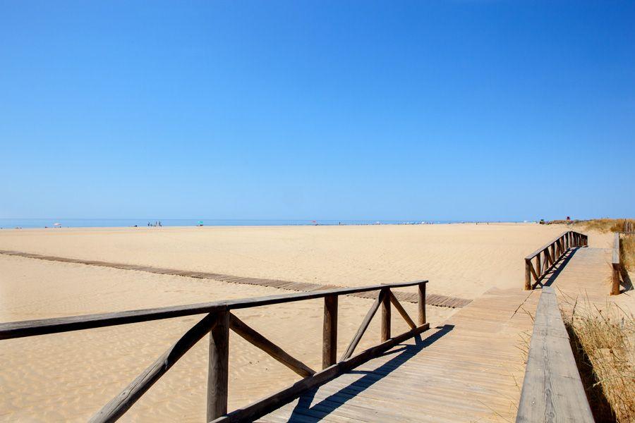 Playa de Punta del Moral.