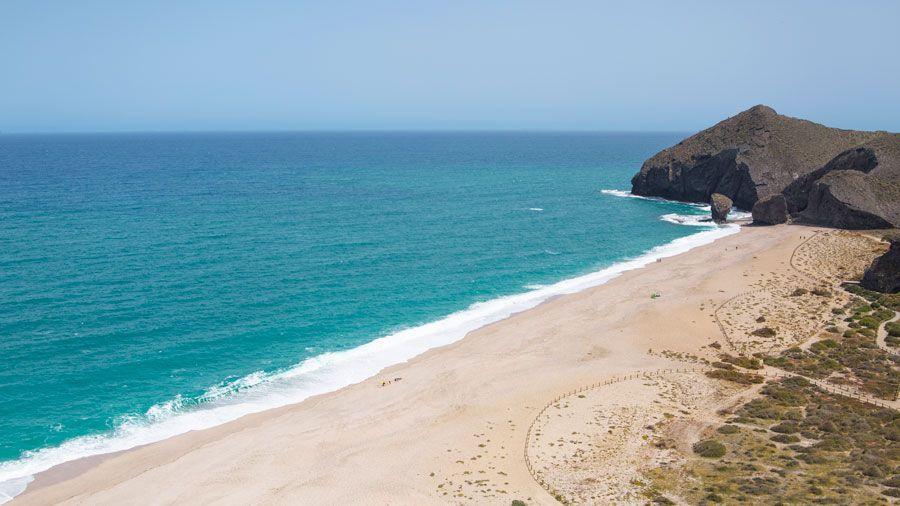Playa de los Muertos.