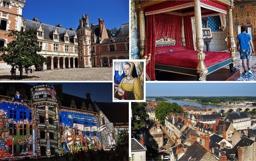 Castillo del Blois valle del loira