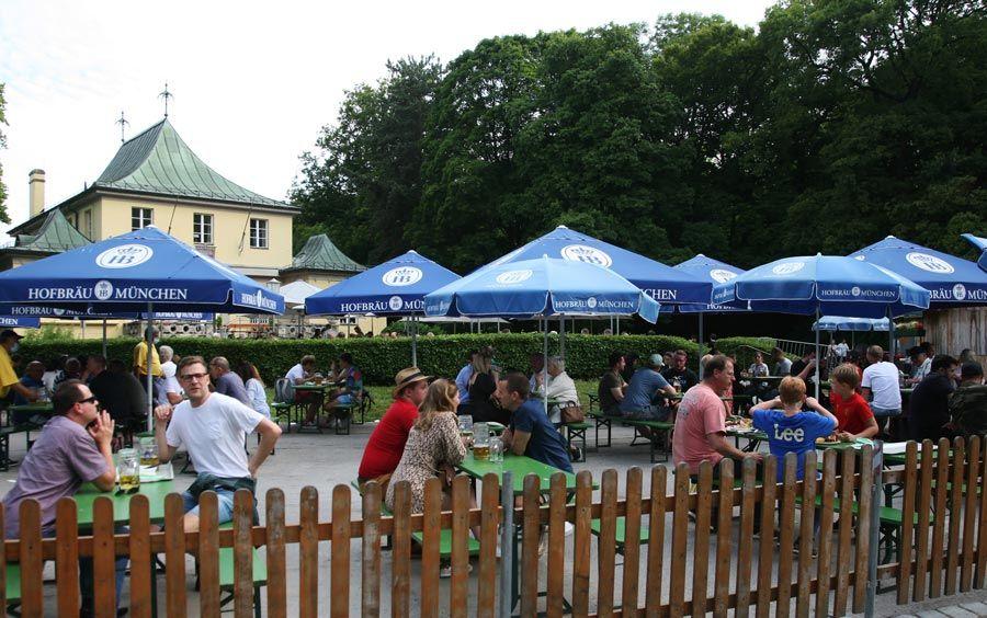 Beer Garden en el Jardín Ingles de Munich