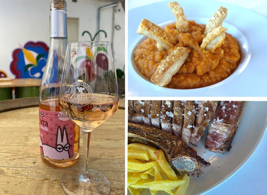 bodega la zorra restaurante Mirasierra Mogarraz