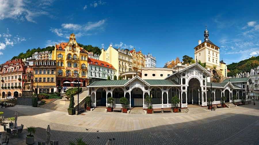 Karlovy Vary  Triangulo Balneario de la Republica Checa