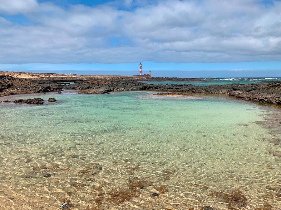 Playa de los Charcos en Fuerteventura