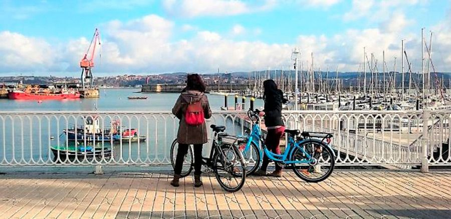 Ruta en bicicleta en Getxo