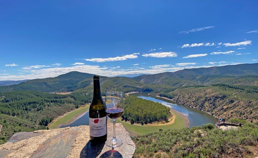 meandro el melero ruta del vino de la sierra de francia