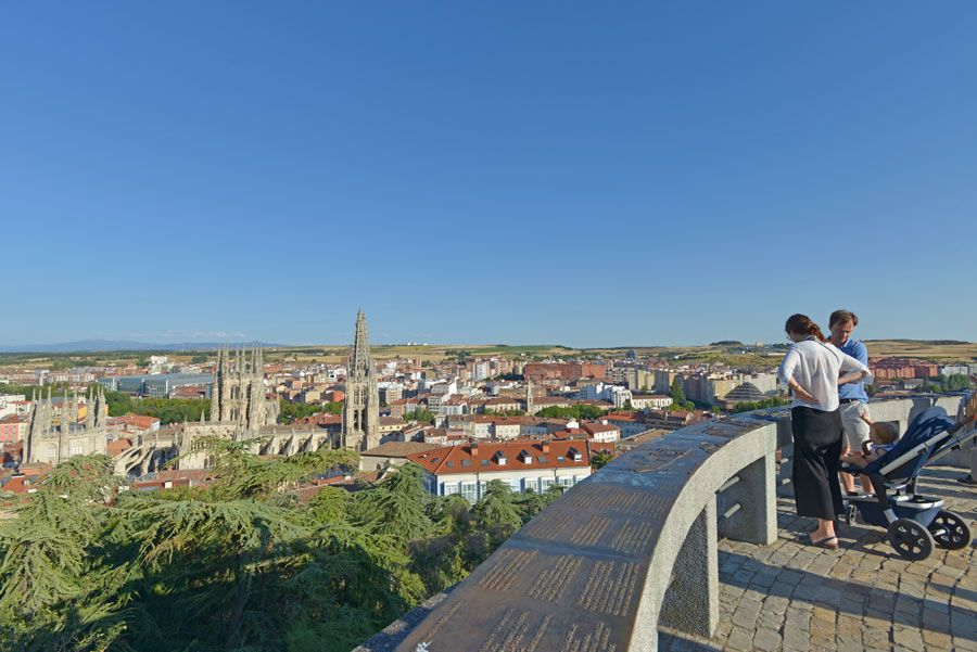 mirador de la catedral de burgos