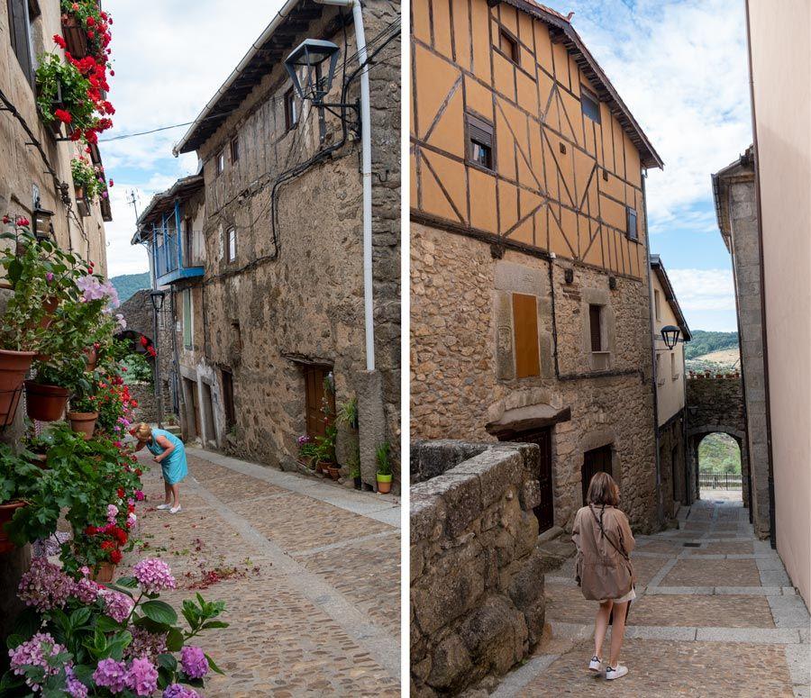 calles Miranda del Castanar ruta vino de la sierra de francia
