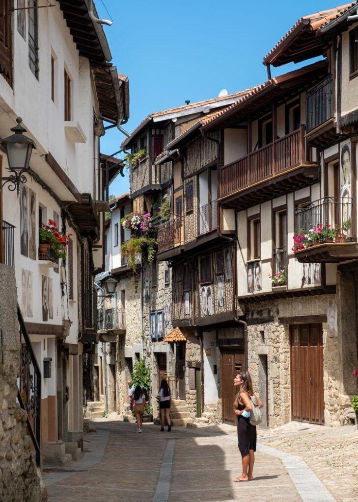 Mogarraz ruta del vino sierra de francia