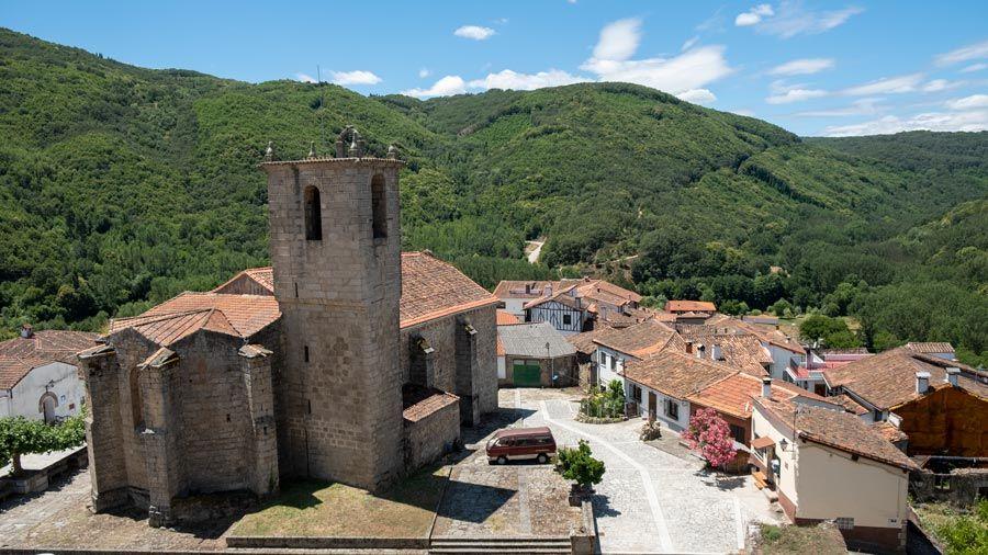 Montemayor del rio ruta del vino de la sierra de francia
