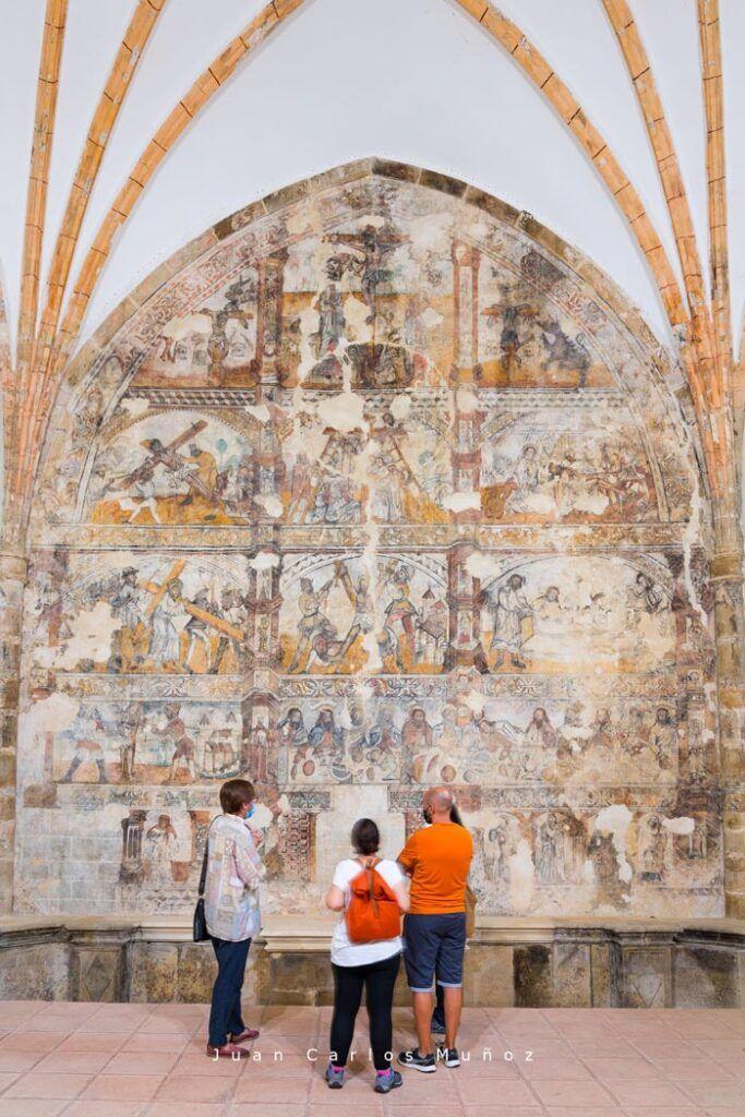 frescos en la iglesia de san andres