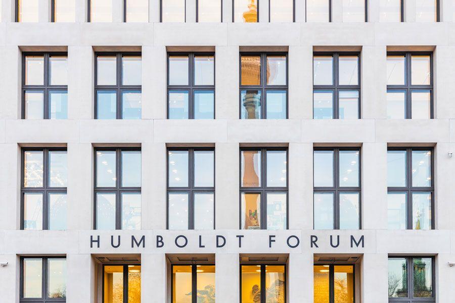 Fachada del Humboldt Forum.