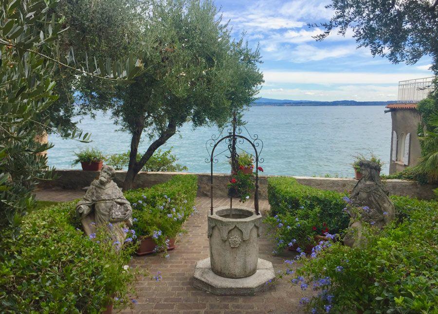 jardin en sirmione lago de garda