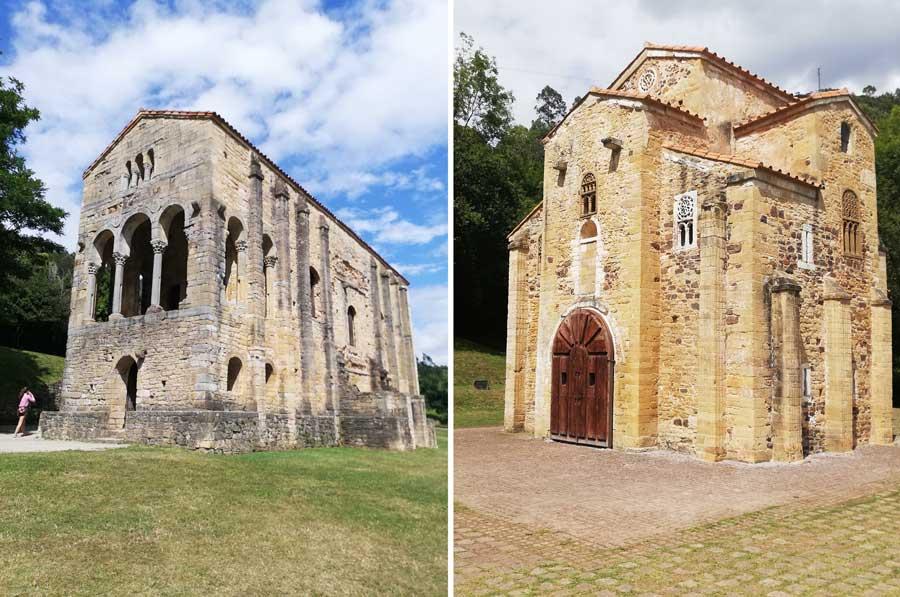 Santa María del Naranco y San Miguel de Lillo.