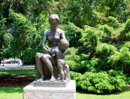 Estatua en el Parque de San Francisco.