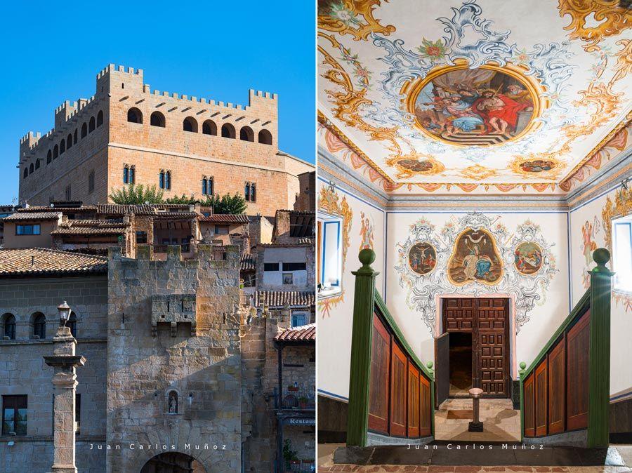 castillo de valderrobres y escalera santa