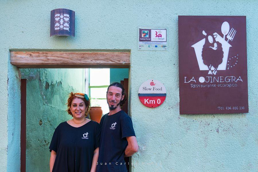 restaurante la ojinegra alloza ruta en coche teruel