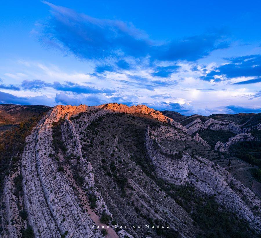 parque geologica aliaga y pueblo
