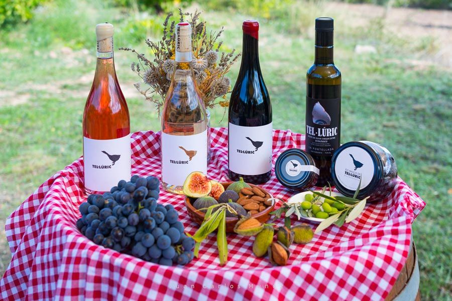 vino teluric ecologico matarrana