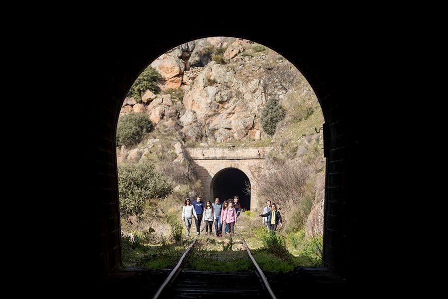 tuneles camino de hierro salamanca