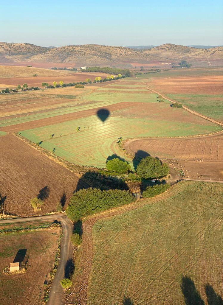 vuelo globo ciudad real